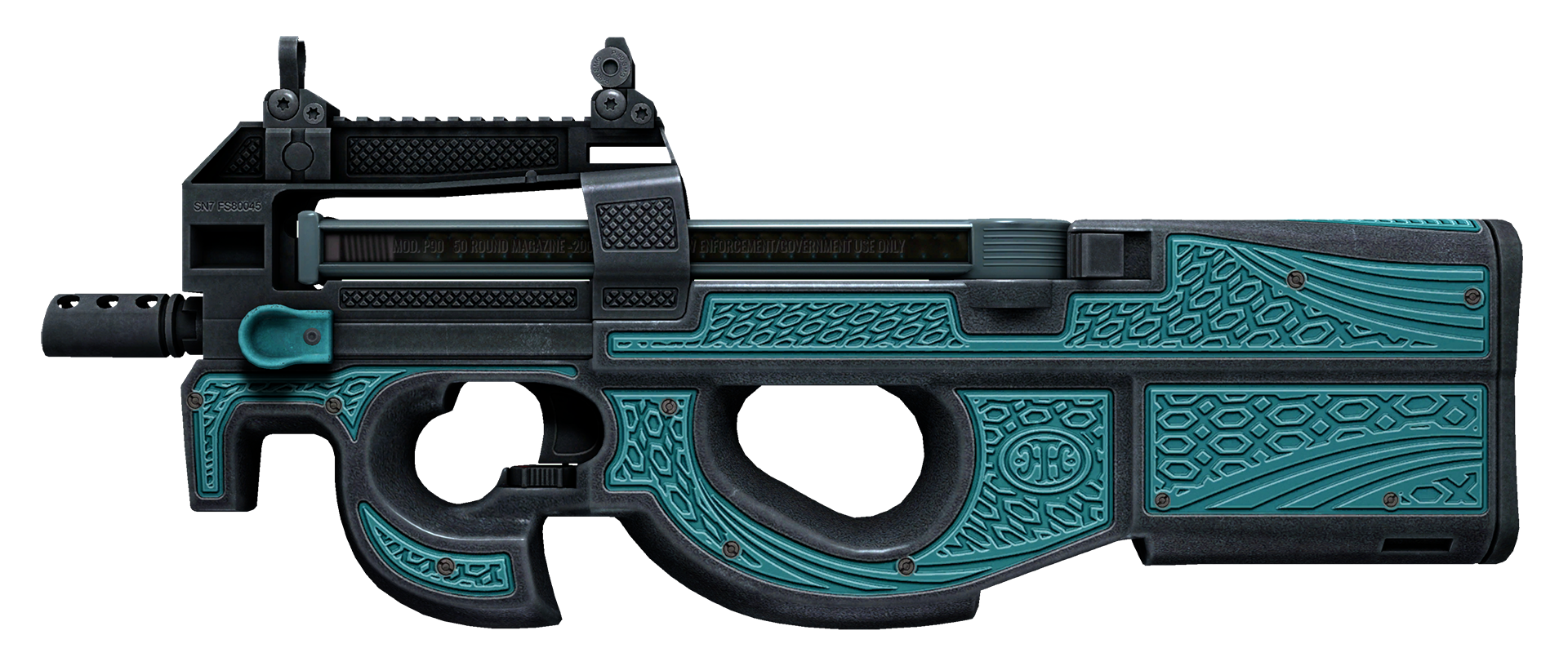 P90 Traction Large Rendering