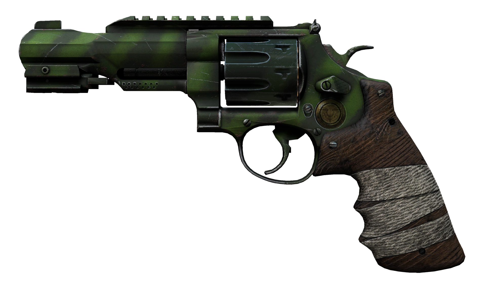 R8 Revolver Survivalist Large Rendering