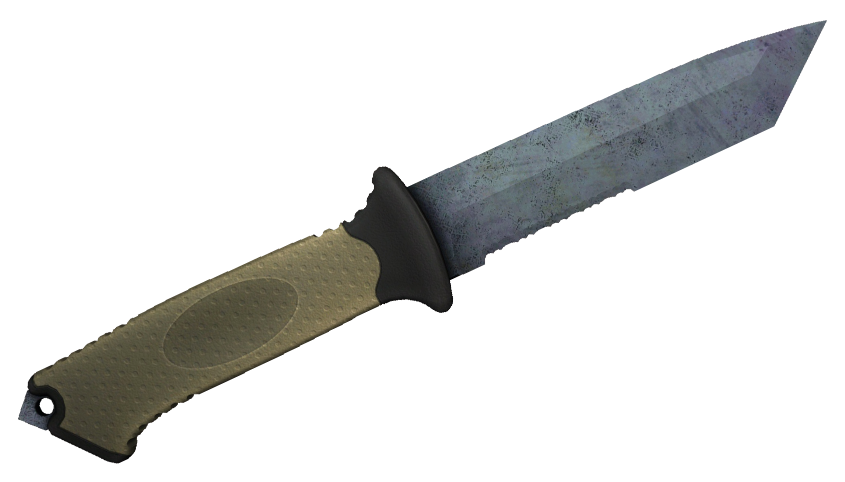 Ursus Knife Blue Steel Large Rendering