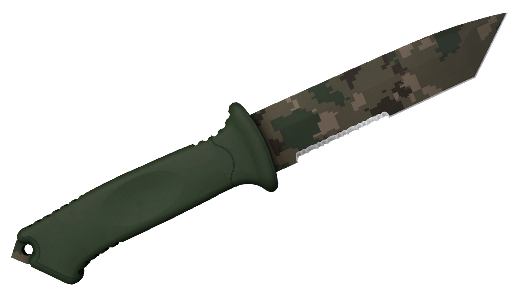Ursus Knife Forest DDPAT Large Rendering