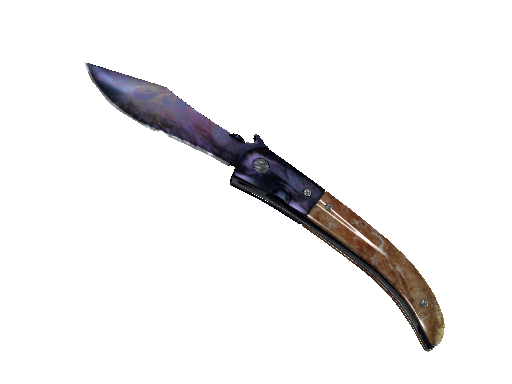 Navaja Knife Doppler Black Pearl