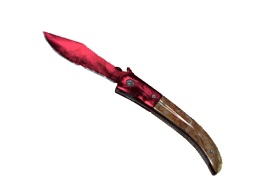 Navaja Knife Doppler Ruby